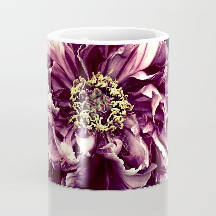 Peony Flower A103 Coffee Mug