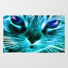 Lightning Cat Rug