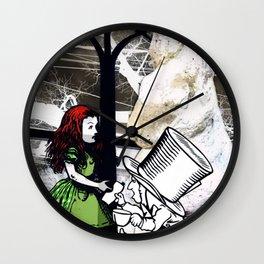 ASK ALICE Wall Clock
