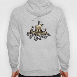 Viking ship 2 Hoody