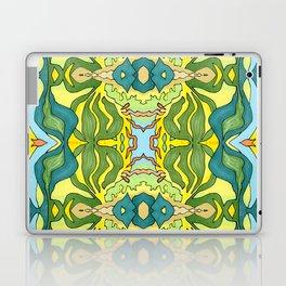 Lettuce Bloom Kaleidoscope Laptop & iPad Skin