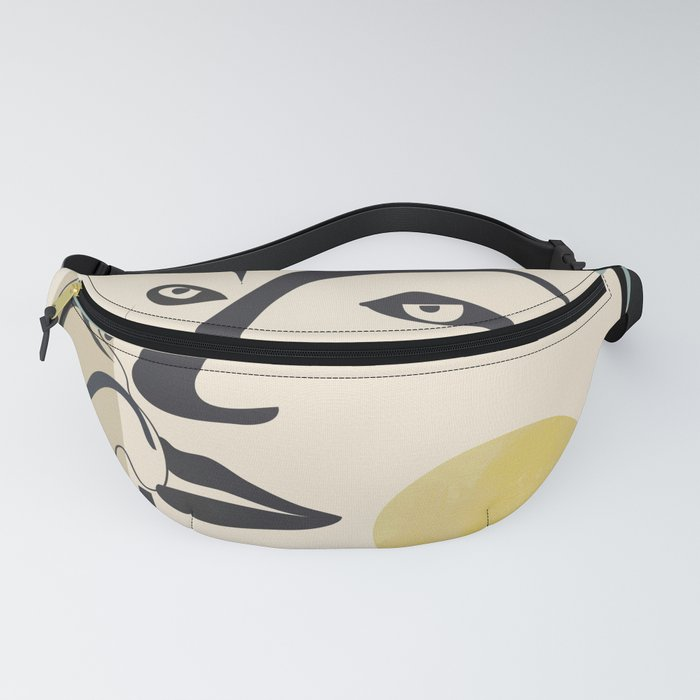 Abstract Face II Fanny Pack