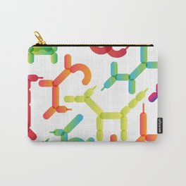 Balloon animals pattern #2 Carry-All Pouch