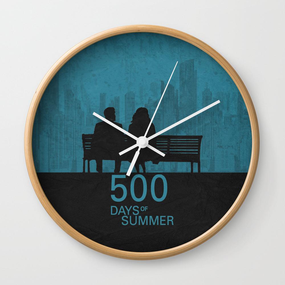 500 Days Of Summer 01 Wall Clock by Miserym CLK8760071