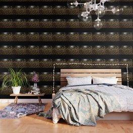 ANIMAL PRINT BLACK AND BROWN Wallpaper