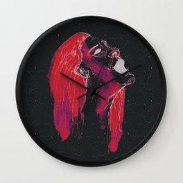 space ladie Wall Clock