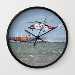 Rhyl Air Sea Rescue Wall Clock