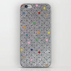 Pin Points Polka Dots Shiny iPhone & iPod Skin