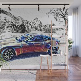 Travel In Style Wall Mural
