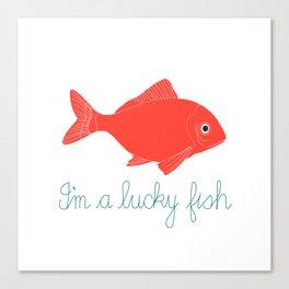 Lucky Fish Canvas Print