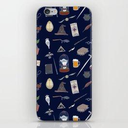 Harry Pattern Night iPhone Skin