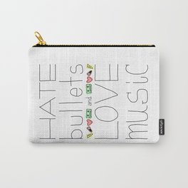 Hate/Love Carry-All Pouch