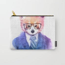 Cute fashion hipster animals pets red panda Carry-All Pouch