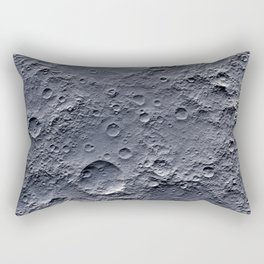 Moon Surface Rectangular Pillow