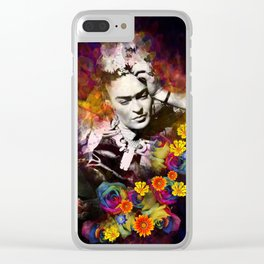 The colors of Frida Clear iPhone Case