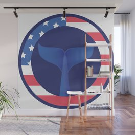 American Wall Mural