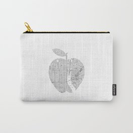 New York City big apple Poster black and white I Heart I Love NYC home decor bedroom wall art Carry-All Pouch