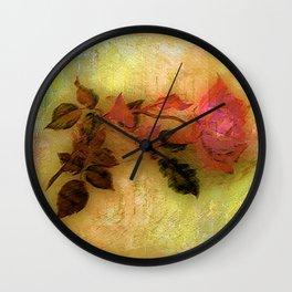 Ice Age rose Wall Clock