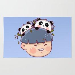 Panda Boy Rug