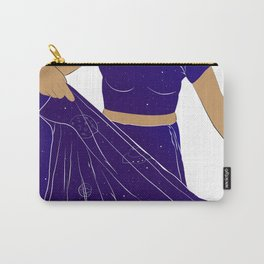 Sari of Universe Carry-All Pouch