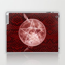 Red Moon Witch Laptop & iPad Skin