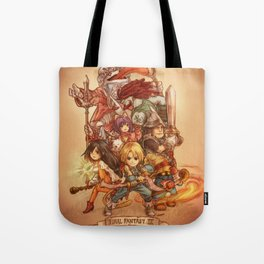 Final Fantasy IX Tote Bag
