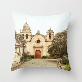 Carmel Mission Throw Pillow