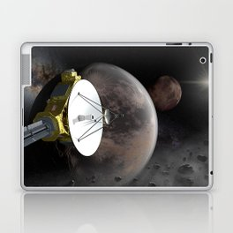 New Horizons flyby Pluto into Kuiper belt Laptop & iPad Skin
