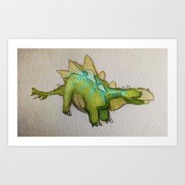 Stego Art Print
