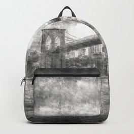 Brooklyn Bridge New York Vintage Backpack