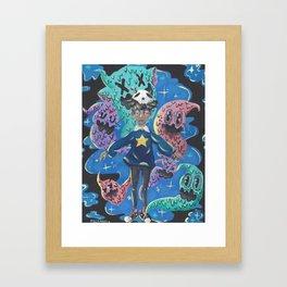 Star Boi Framed Art Print