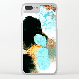 Abstract 1000 Clear iPhone Case