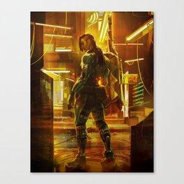 DXHR POI mashup - Shaw Canvas Print