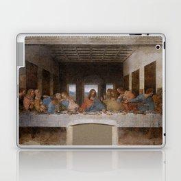 Mosaic of the Last supper of Leonardo Da Vinci Laptop & iPad Skin