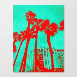 Neon Vegas Canvas Print