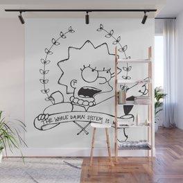 Lisa for President Wall Mural
