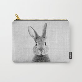 Rabbit - Black & White Carry-All Pouch