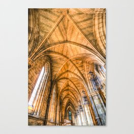 Southwark  Cathedral London Canvas Print
