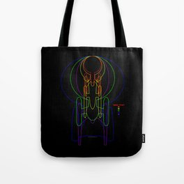 USS Enterprise Tote Bag