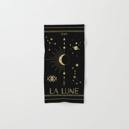 The Moon or La Lune Gold Edition Hand & Bath Towel