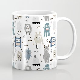 Monsters Prints patterns Coffee Mug