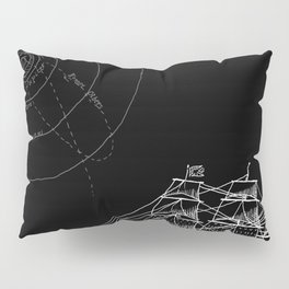 If Time Is My Vessel Pillow Sham