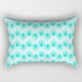 Tropical Teal Rectangular Pillow