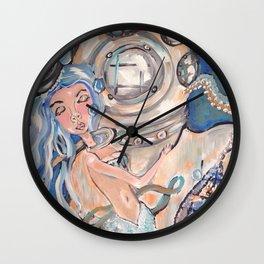 MERMAID MUSE Wall Clock