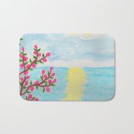 Cherry Tree Ocean View Bath Mat