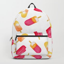 watercolor popsicle pattern Backpack
