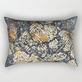 Bark Batik Ink#12 Rectangular Pillow