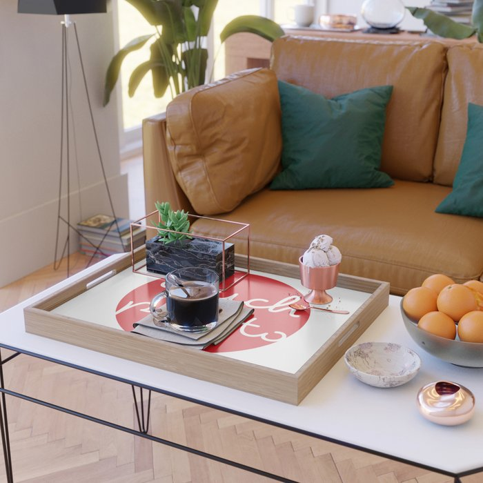 couch potato Serving Tray
