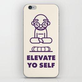 Elevate Yo Self iPhone Skin