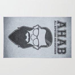 ALL HIPSTERS ARE BASTARDS - Funny (A.C.A.B) Parody Rug